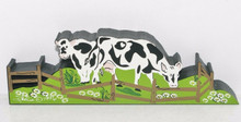 GRAZING COWS ACC04 RETIRED ACCESSORIES BY SHELIA'S MADE IN CHARLESTON SC