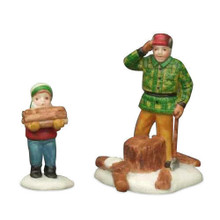 WOODCUTTER AND SON # 59862