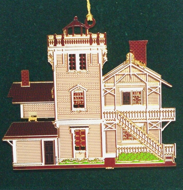 East Brother Lighthouse Historical Ornament