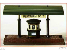 Platform No.2  Dept 56 Dickens Village Use with Victoria Station or train sets