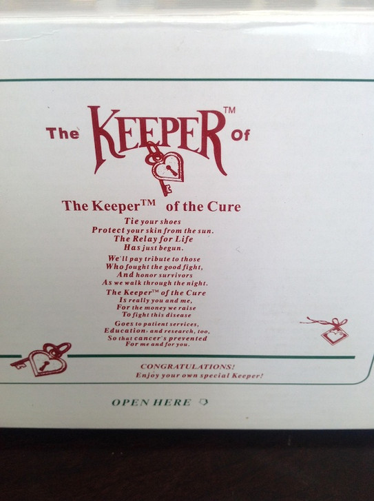 KEEPER OF CURE box