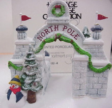 NORTH POLE GATE  5632-4  RETIRED NORTH POLE -  DEPT 56