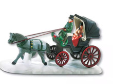CENTRAL PARK CARRIAGE #59790  DEPT 56 RETIRED  CHRISTMAS IN THE CITY