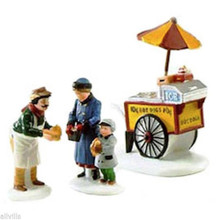 HOT DOG VENDOR #58866  DEPT 56 - CHRISTMAS IN THE CITY ACCESSORY S/3 So NEW YORK