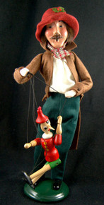 PUPPETEER AND PINOCCHIO the Marionette