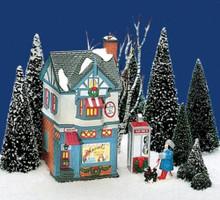 MARVEL'S BEAUTY SALON Dept 56 Original Snow Village Collection Retired