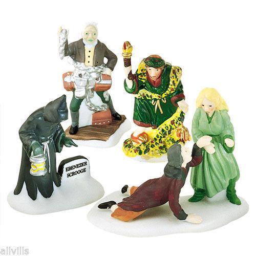 Christmas Carol Christmas Spirits Figures