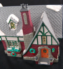 OAK GROVE TUDOR #54003 Retired Dept 56 Snow Village