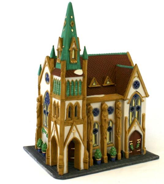All Saints Corner Church Porcelain