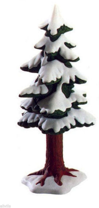 Village Small Porcelain Pine Tree 52191