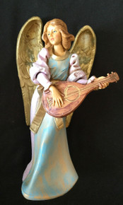 EVA WITH LUTE AND GOLD WINGS