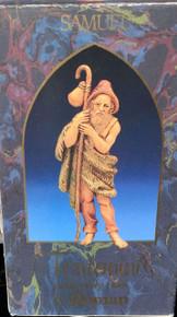 SAMUEL FARMER WITH STAFF #52555 Sculptor Elio Simonetti 1983 FONTANINI 5 INCH