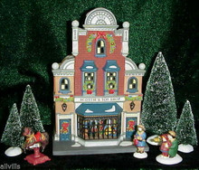 SCOTTIE'S TOY SHOP # 58871  DEPT 56 Christmas in the City Exclusive Gift set 10