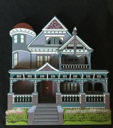 ZABRISKIE HOUSE OMAHA NEBRASKA SHELIA'S VST17 VICTORIAN SPRINGTIME SERIES