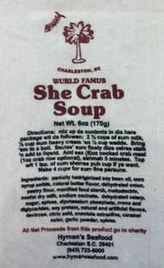Hyman's She Crab Soup