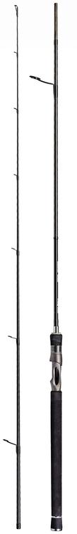 DAM STEELPOWER BLACK SALT 2.70m (40-80g) 6-10kg High End Modulus TC40 Carbon Spinning Rods, 2 sections