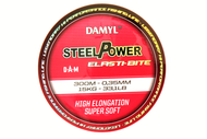 DAM DAMYL STEELPOWER ELASTI-BITE MONO 300M - 0.22MM / 6.70KG - High Quality Monofilament Line