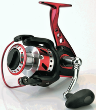 CARSON THORX IBRIDO 4000F BB 5+1 - RED- HIGH QUALITY FRONT DRAG SPINNING REELS
