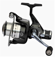TEBEN BBS 300RD REAR DRAG SPINNING-MATCH REEL Size 3000 8+1 ball bearings (BB) Capacity: 200m of 0.20 mm Aluminium Spool, Graphite spare spool, Micro adjustable, multi-disc rear drag, Gear Ratio: 5.2:1