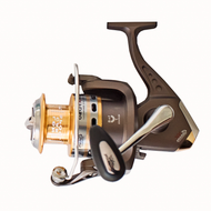 CARSON FOXER 40FD FRONT DRAG SPINNING REEL MEDIUM SIZE 4000 7 ball bearings (BB) Capacity: 180m of 0.30 mm Aluminium Spool, Spare graphite spool Micro adjustable, multi-disc front drag Gear Ratio: 5.1:1