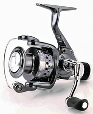 CARSON HERCULES 50RD REAR DRAG SPINNING REEL SIZE 5000 6+1 ball bearings (BB) Capacity: 200m of 0.35 mm Aluminium Spool, Spare graphite spool Micro adjustable, multi-disc rear drag Gear Ratio: 5.5:1
