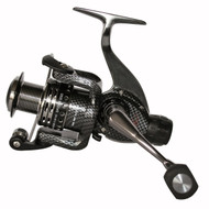 CARSON RED SPIDER 3000RD REAR DRAG SPINNING REEL MEDIUM SIZE 3000 4+1 ball bearings (BB) Capacity: 240m of 0.18 mm Metal body Aluminium Spool, Spare graphite spool Micro adjustable, multi-disc rear drag Gear Ratio: 4.9:1