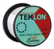 CARSON 0.50mm 100m spool 18.5kg Nylon Teklon Monofilament Line