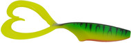 BIWAA TWINPIKE GRUB 6 - 150MM X 3 - 12 (Fire Tiger)