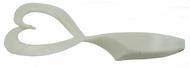 BIWAA TWINPIKE GRUB 9 - 200MM X 2 - 02 (Pearl White)