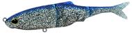 """BIWAA SUB KICKER 7"""" - 180MM (45g)SOFT FISHING LURES no 01 (Blue Chrome)"""