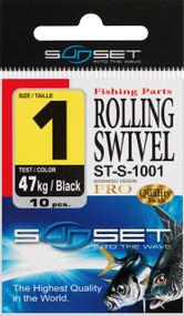 SUNSET ROLLING SWIVEL ST-S-1001  N10  14KG X20