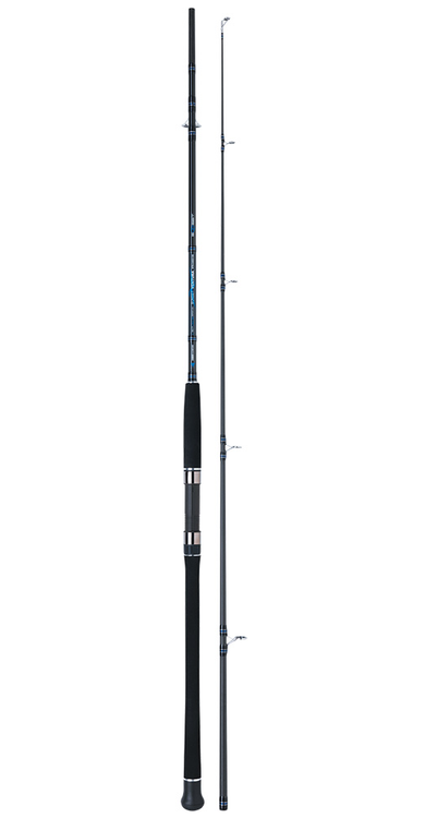 SUNSET VENTURA 2.40m max 150g 15kg Carbon Boat Spinning Rods. Exceptional rods when targeting snapper, trevally, kinggies, etc. from boat, piers, rocks or jetties.