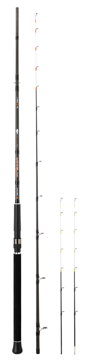 SUNSET FINEZZA 2.40m max 150g 15kg Carbon Boat and Jetty Multi Tips Spinning Rods