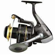 SUNSET SUNWAY SW7005FD SURF CASTING-SEA REEL/ BIG-PIT Size 7000/ Front Drag/5 ball bearings (BB)/ Capacity: 245m of 0.40mm / Alloy Spool/ Infinite anti-return/ Micrometric Drag knob/ Anti-twist line roller/ SS Screws/ Gear Ratio: 4.5:1