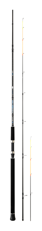 SUNSET FLEXISENSE 2.70m max 120g 13kg Carbon Boat and Jetty Multi Tips Spinning Rods