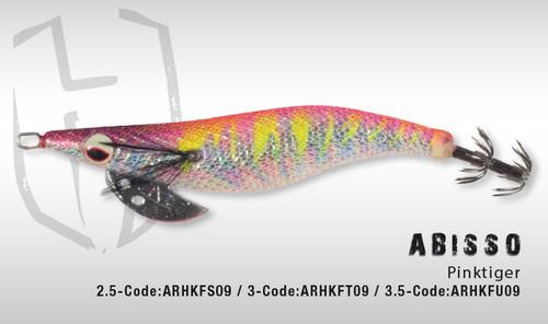 HERAKLES ABISSO 3.5 (Pinktiger) - Hardbait Squid
