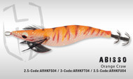 HERAKLES ABISSO 3.5 (Orange Craw)- Hardbait Squid