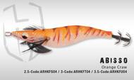 HERAKLES ABISSO 3.5 (Orange Craw)- Hardbait Squid