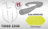 HERAKLES TURBO GRUB 14cm  (Chartreuse)