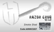 HERAKLES RAZOR GRUB  4.5''  (Smoke Shad)