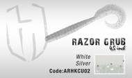 HERAKLES RAZOR GRUB 4.5''  (White Silver)