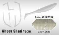 HERAKLES GHOST SHAD 13cm  (Sexy Shad)