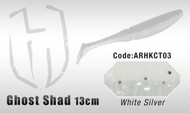 HERAKLES GHOST SHAD 13cm  (White / Silver)