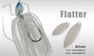 HERAKLES FLATTER SPINNER 3/4oz  (Silver)