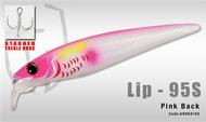 HERAKLES LIP 95S (Pink Back) - Hardbait Slow Sinking Jerkbait