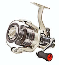 DAM QUICK IMPRESSA PRO 350FS SPINNING REEL Free Spool Size 5000 2+1 ball bearings(BB) Capacity: 157m of 0.50mm, Aluminium Spool, Graphite Spare Spool, Micro adjustable front drag, Gear Ratio: 4.5:1