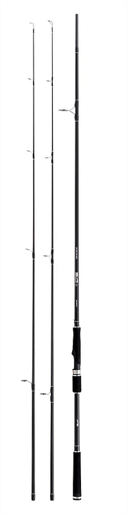 BALZER MK IM-8 DOUBLE STRIKE SPIN 2.40m (10-45g and 20-75g) 2-10kg Carbon Two Tips Spinning Rod
