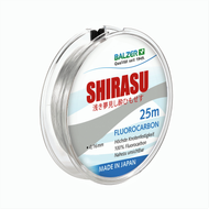 BALZER - SHIRASU HIGH QUALITY FLUOROCARBON LINE 0.18mm - 25m Spool