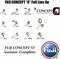 SAKURA SPORTISM SPRS 702 MH 2.10m (10-35g) 2-5Kg Carbon Spinning Fishing Rods