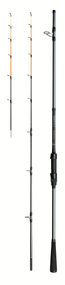 DAM SALT-X BOAT QUIVER 3.30m (100-250g) 12-22Kg Carbon Boat and Beach Spinning Rod